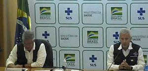 Brasil tem 92 mortes e 3.417 casos confirmados de novo coronavírus, diz Ministério da Saúde