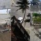 Vídeo: carro bate e derruba parte do muro da sede do Sindjornal, em Maceió