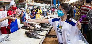 Vendedores de pescados serão capacitados para comercialização segura na Semana Santa