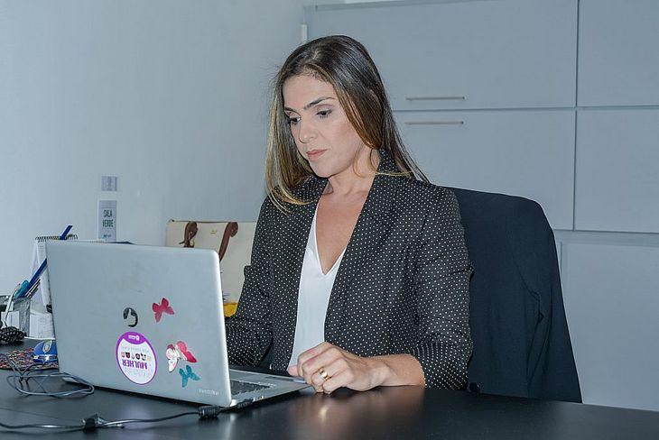 Lilyan Valões, diretora do Procon Maceió
