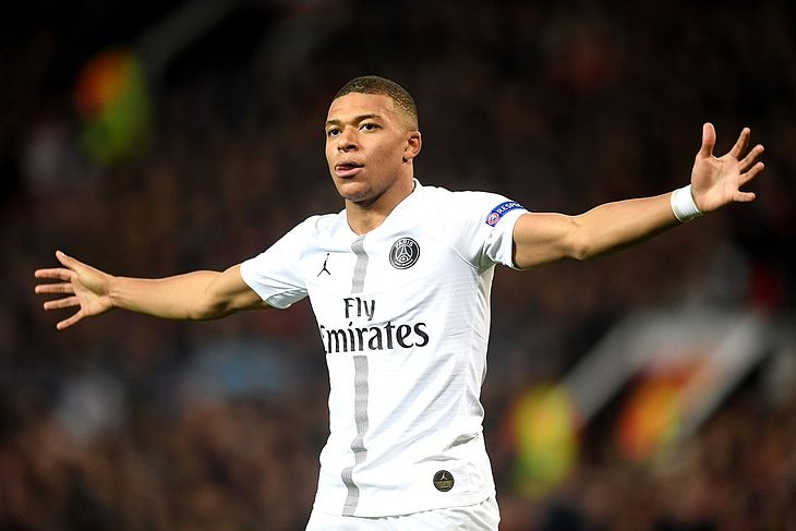 Mbappé brilhou no PSG