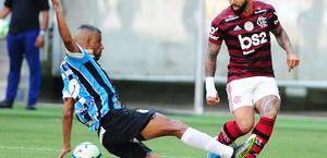 Flamengo bate o Grêmio por 1 a 0 e fica perto do título do Brasileirão