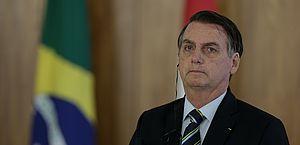 Bolsonaro pousa em Washington em sua primeira visita aos EUA