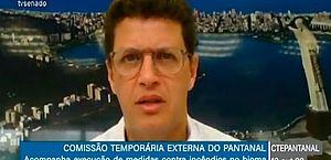 Salles afirma que apenas 6% do Pantanal é de competência federal