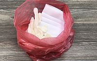 Uso de saco vermelho é uma das orientações para descarte correto dos resíduos infectados ou suspeitos de contaminação