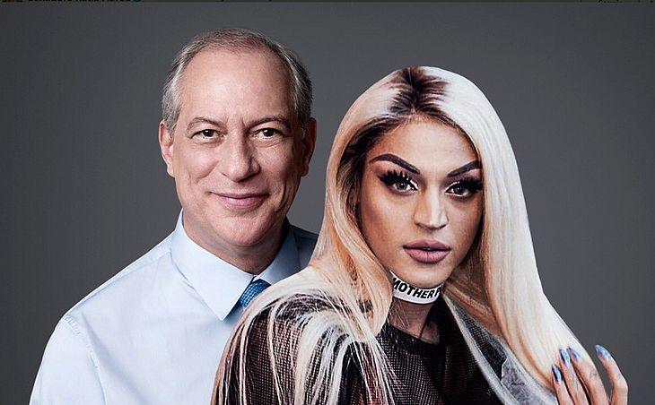 Kátia Abreu virou a Pabllo Vittar nos memes da foto da candidatura