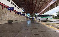 Fluxo de passageiros na rodoviária cai 98%; aeroporto tem apenas dois voos diários