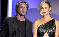 Brad Pitt está namorando Charlize Theron após serem apresentados por Sean Penn, diz jornal