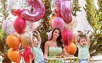 Andressa Suita faz aniversário e ganha homenagem de Gusttavo Lima