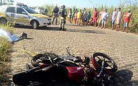 Motociclista morre em acidente com caminhão em Coqueiro Seco