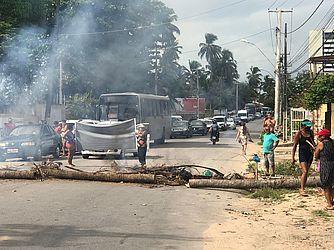 Protesto Alto do Cruzeiro