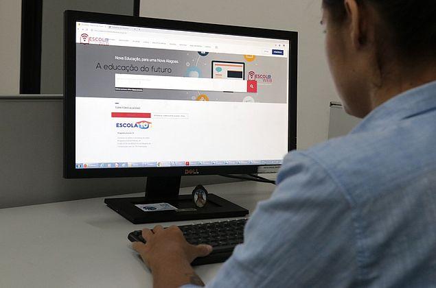 Escola Web disponibiliza jogos, aplicativos e links para alunos e professores de Alagoas